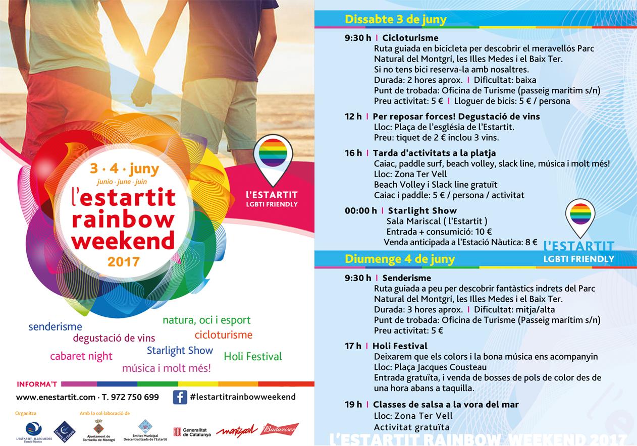 Descarregar PDF - L'Estartit Rainbow Weekend